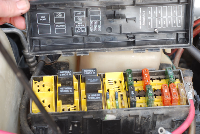 fuse box for 2001 jeep grand cherokee