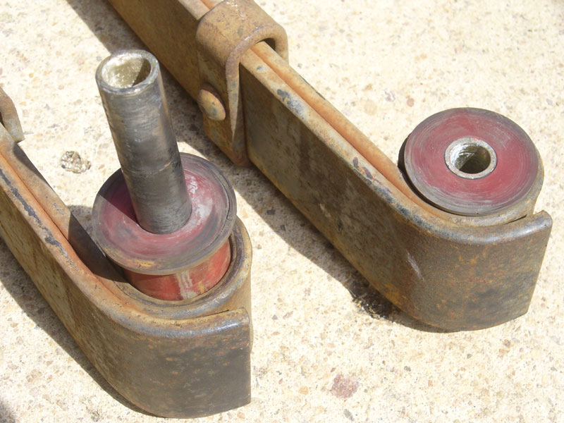 Leaf Springs Rancho Replacement Bushings Rubber