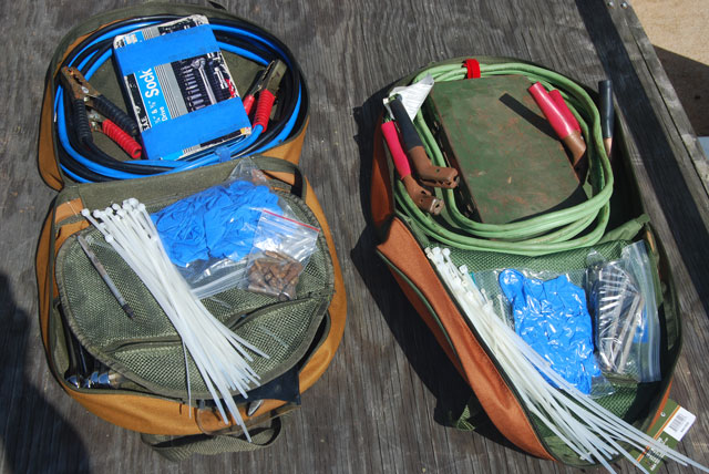 Jumper Cable Bag : Vehicle edc jumper cables and tools bag edcforums